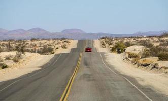 scènes sur l'ancienne route 66 en californie photo