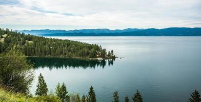 nature et scènes autour de la forêt nationale de flathead montana photo