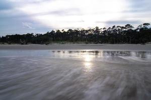 île de chasse caroline du sud scènes de plage photo