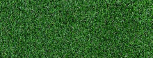 bannière de texture de gazon artificiel photo