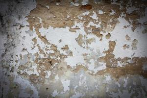 Vieux mur texture grunge background et vignette noire photo