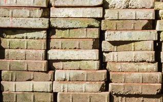 fond de mur de briques grunge rugueux photo