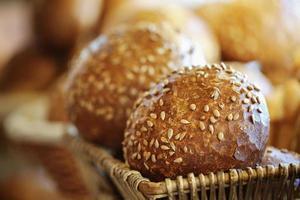 pain allemand de base, produits de boulangerie, pâtisserie et boulangerie photo