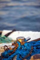 abstrait industrie maritime résille cordes lignes de pêche photo