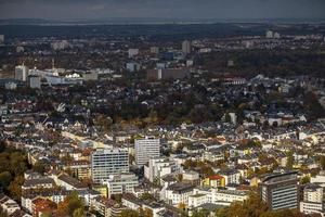 Bâtiments généraux de paysage urbain européen en allemagne francfort photo