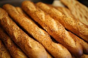 pains baguette, produits farineux, boulangerie et boulangerie photo