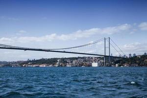 bosphore d'istanbul, mer de marmara, europe et asie photo