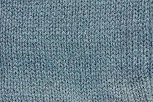 Gros plan extrême de l'arrière-plan de l'écharpe en laine photo