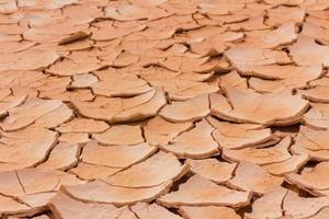 fond de perspective de terre sèche et craquelée photo
