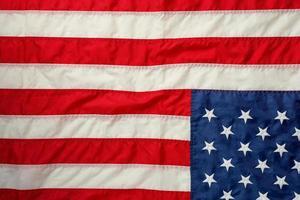 concept de drapeau américain de la fête du travail des États-Unis photo