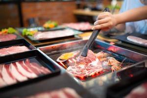 barbecue coréen, shabu shabu photo