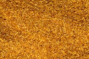riz boulgour cru sain et délicieux photo