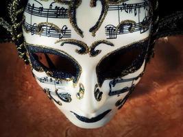 carnaval venise théâtre costume coloré masque photo