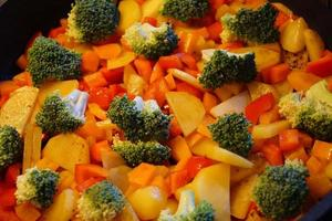 légumes frais et sains photo