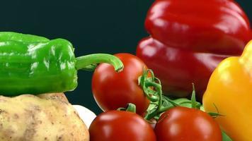 mélange de légumes biologiques sains photo