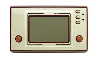 manette de jeu portable vieille et sale photo