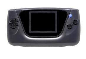 console de jeu portable vieille et sale photo