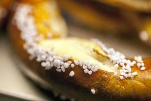 délicieux mélange d'aliments cuits au four pâtisserie savoureuse photo
