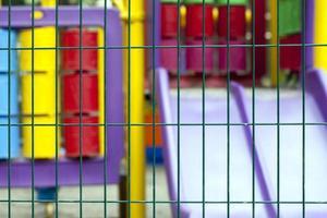 aire de jeux pour enfants en plein air pour s'amuser photo