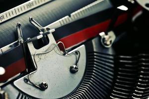 vieille machine à écrire antique vintage photo