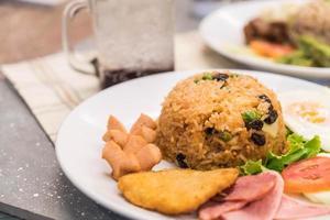 riz frit américain photo