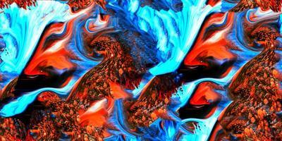 peinture colorée abstraite surréaliste samless et fond à carreler photo