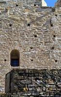 vieux murs du château historique vintage photo