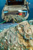 matériel de pêche industrielle filets de pêche photo