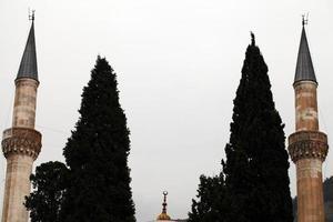 islam religion mosquée architecture en turquie photo