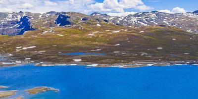 lac vavatn à hemsedal, norvège photo