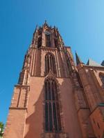 Cathédrale Dom de Francfort à Francfort photo