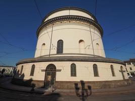 Église Gran Madre à Turin photo