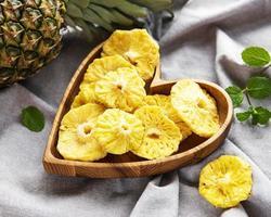 rondelles d'ananas séchées photo