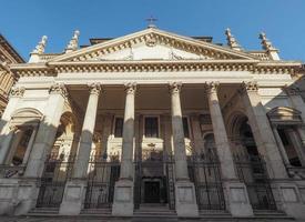 L'église San Filippo Neri à Turin photo