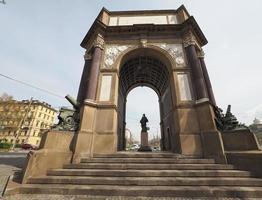 arco del valentino arc à turin photo