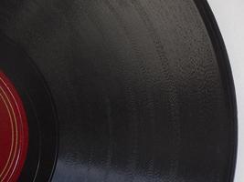 détail du disque vinyle photo