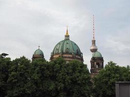 berliner dom à berlin photo