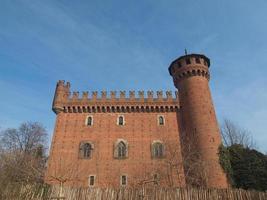 château médiéval à turin photo