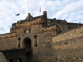 Château d'Edimbourg en Ecosse photo