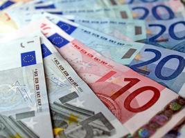 billets en euros, union européenne photo