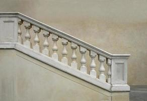 balustrade baroque antique photo