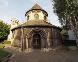 église ronde à cambridge photo