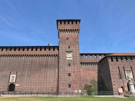 castello sforzesco, milan photo