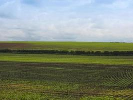paysage de campagne anglais photo