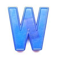 lettre majuscule magnétique w photo