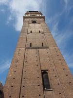 clocher de la cathédrale de turin photo