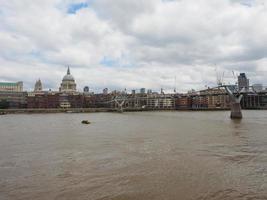 Tamise à Londres photo