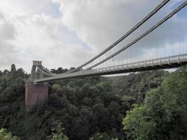 pont suspendu de clifton à bristol photo