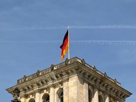 Parlement du Reichstag à Berlin photo