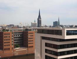 vue sur les toits de hambourg photo